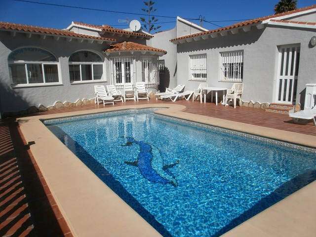 Chalet independiente en Calpe