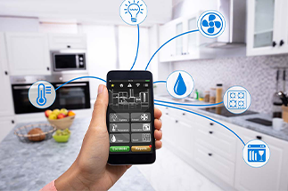 smart homes o casas inteligentes Grupo Mar de Casas